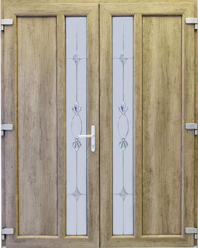 Termoplast Modello a doppia porta di cristallo