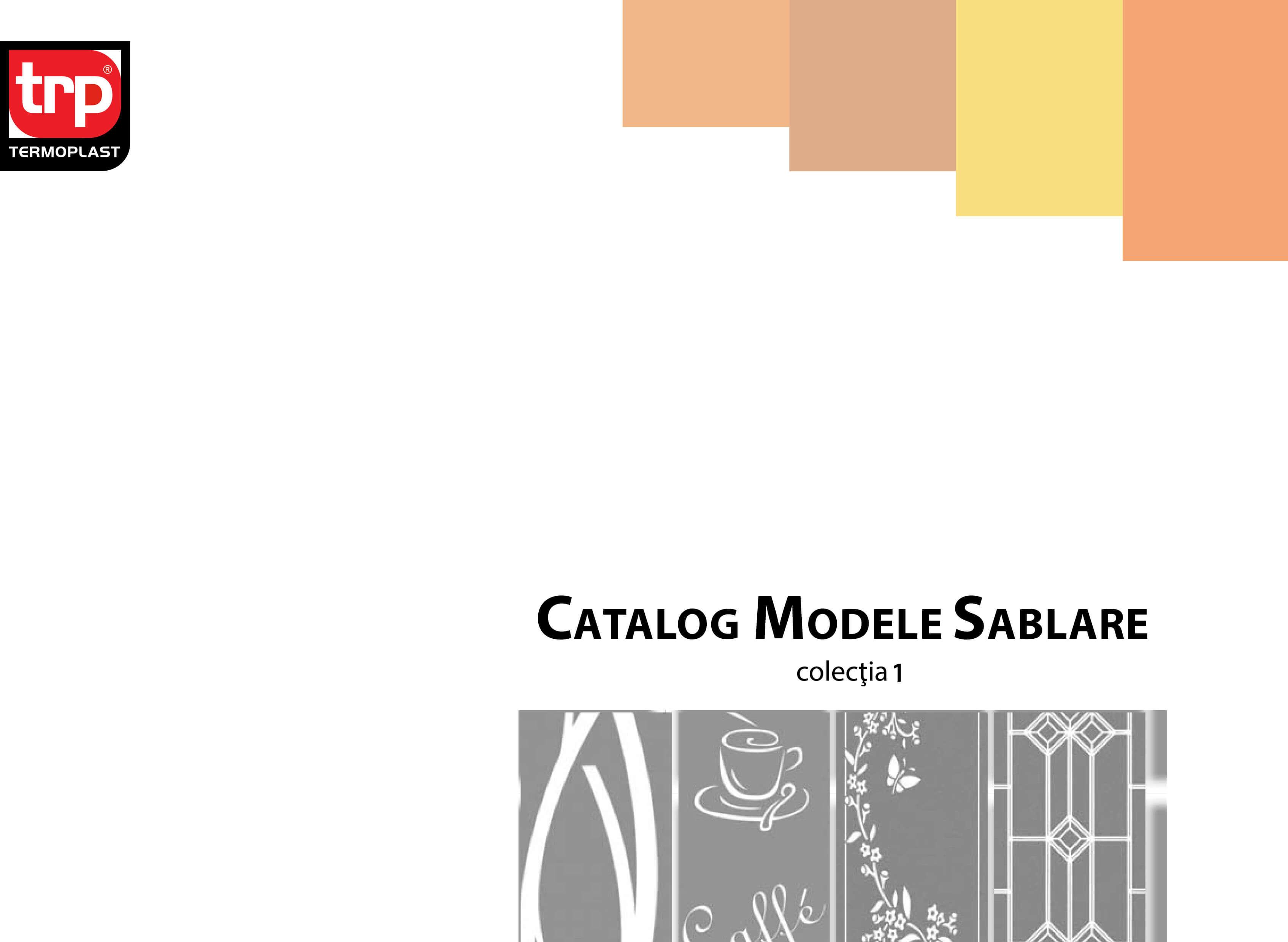 catalogo di sabbiatura - collezione